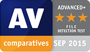 AV Test Comparatives Award - File Detection