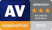 AV Test Comparatives Award - Malware Removal