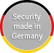 Security made in Germany Label