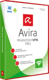 Avira Phantom VPN for windows product box shot