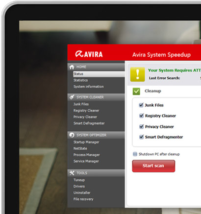 Avira System Speedup Screenshot
