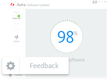 Send your feedback via the user interface